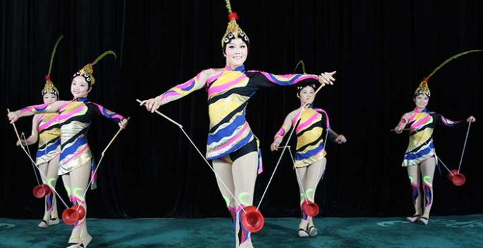 4 tickets to Peking Acrobats at NJPAC on Saturday, February 18 at 1PM