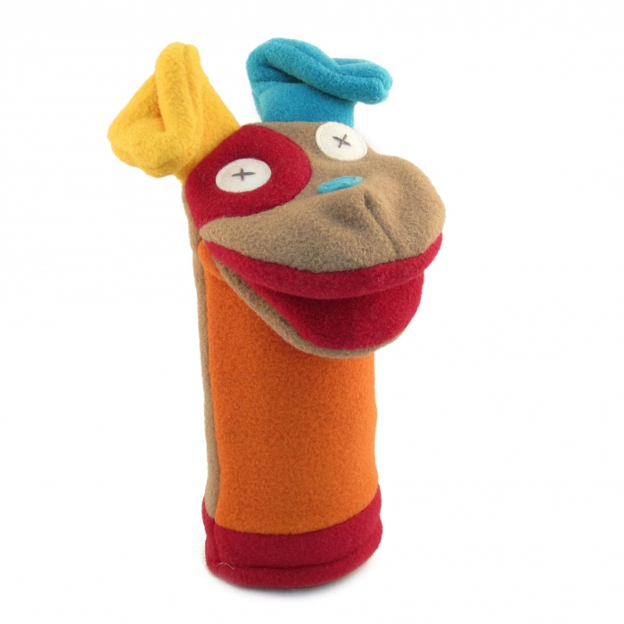 Eco-Friendly Fleece Puppets By Cate & Levi