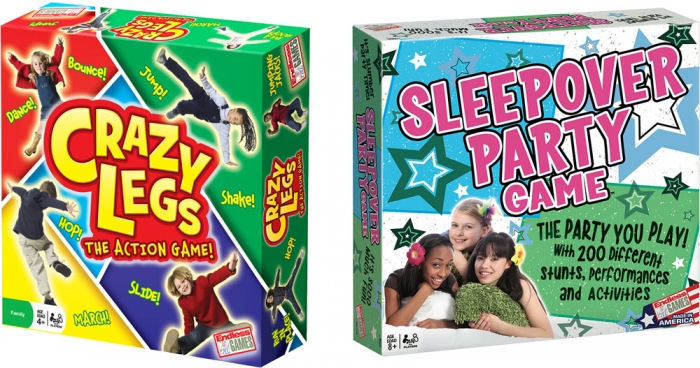 Endless Games: Sleepover Party & Crazy Legs