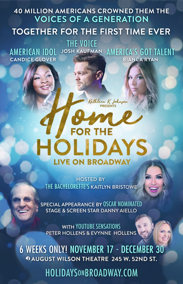 2 Tickets to Home for the Holidays The Broadway Concert Celebration (2 winners)