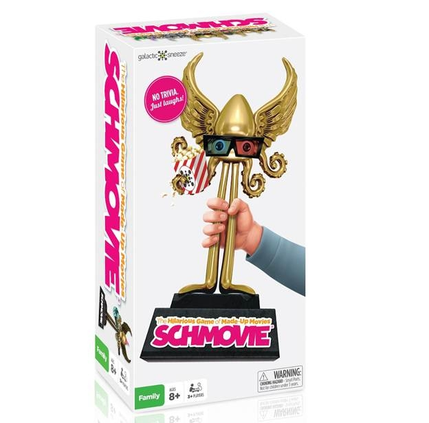 Schmovie: New Hilarious Family Game of Made-up Movies