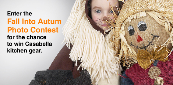 Enter the Fall into Autum Photo Contest for the chance to win Casabella kitchen gear.