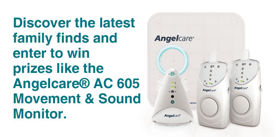Discover the latest family finds and enter to win prizes like the Angelcare� AC 605 Movement & Sound Monitor.