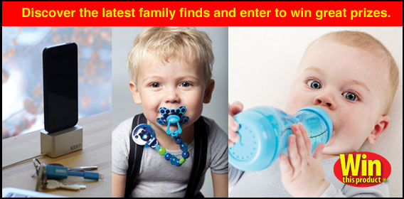 Discover the latest family finds and enter to win great prizes.
