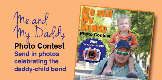 Me and My Daddy Photo Contest
