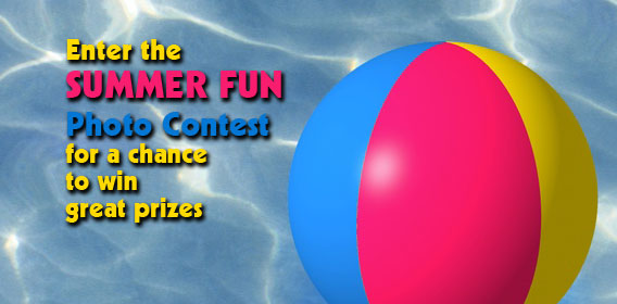 Enter the Summer Fun Photo Contest