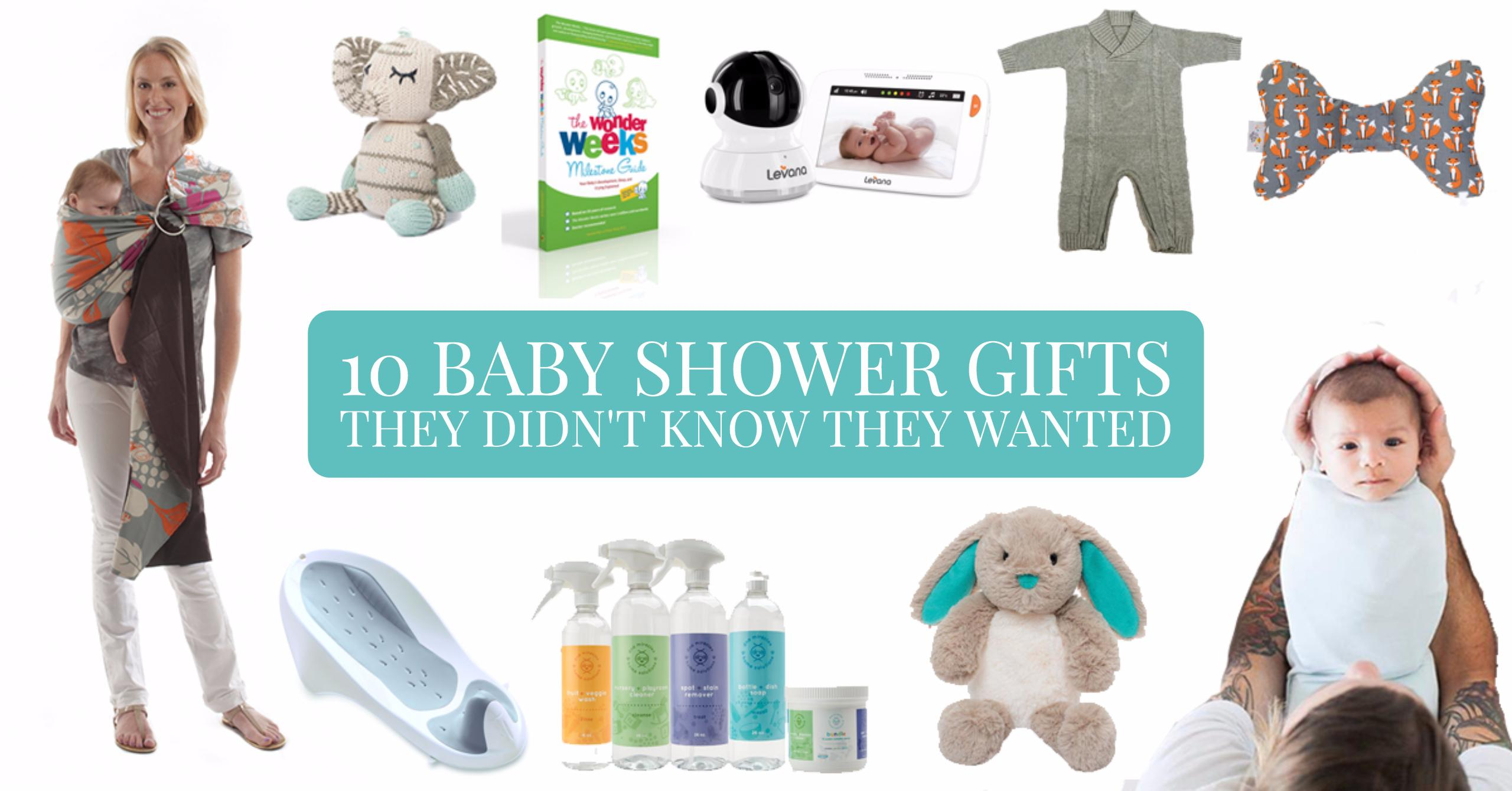 10 Baby Shower Gifts They Didn't Know They Wanted